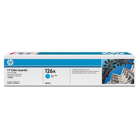HP 126A / CE311A Toner Cyan
