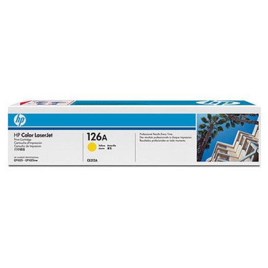 HP 126A / CE312A Toner Jaune