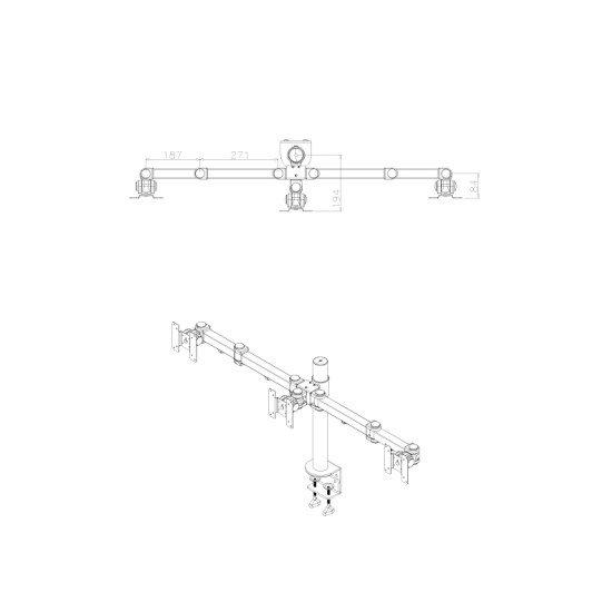 Newstar FPMA-D960D3 Support bureau