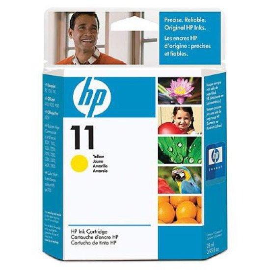 HP 11 / C4838A Cartouche encre / Jaune
