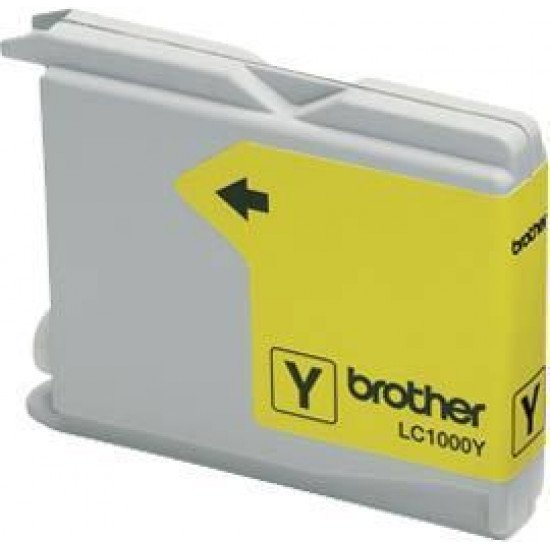 Brother LC-1000Y cartouche encre /  Jaune