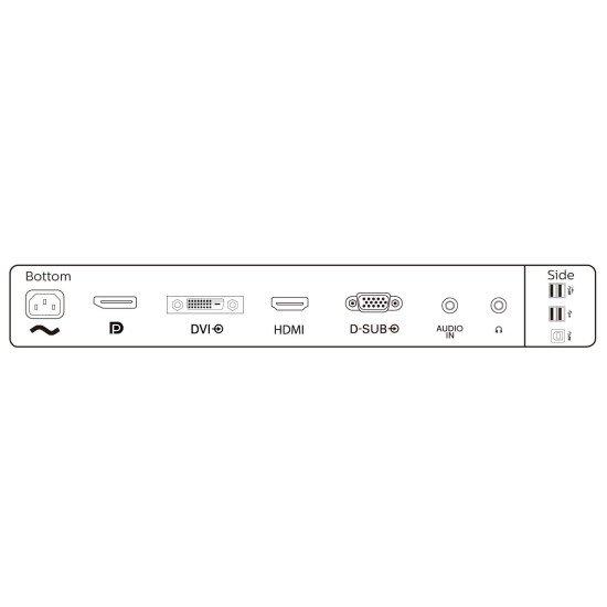 "Philips 241B8QJEB/00 B Line écran PC 24"""