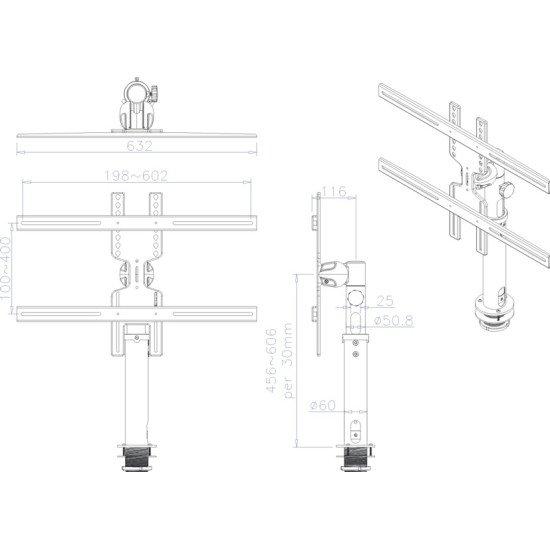 Newstar FPMA-D1200BLACK support bureau
