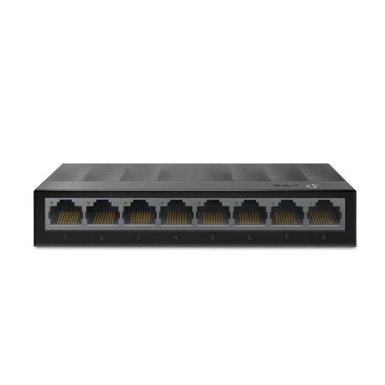 TP-LINK LS1008G commutateur réseau Non-géré Gigabit Ethernet (10/100/1000) Noir