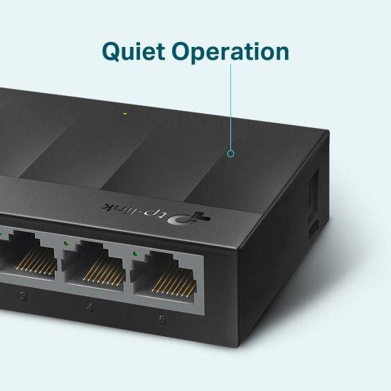 TP-LINK LS1005G commutateur réseau Non-géré Gigabit Ethernet (10/100/1000) Noir