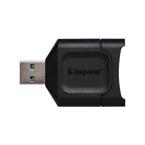 Kingston Technology MobileLite Plus lecteur de carte mémoire Noir USB 3.2 Gen 1 (3.1 Gen 1) Type-A