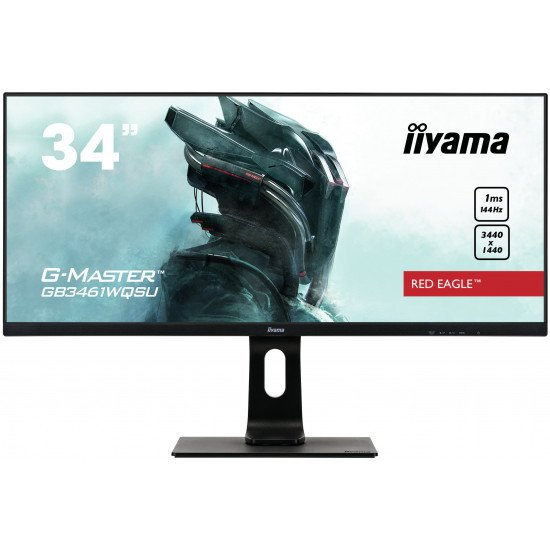 "iiyama G-MASTER Red Eagle GB3461WQSU-B1 écran PC 34"" 4K"