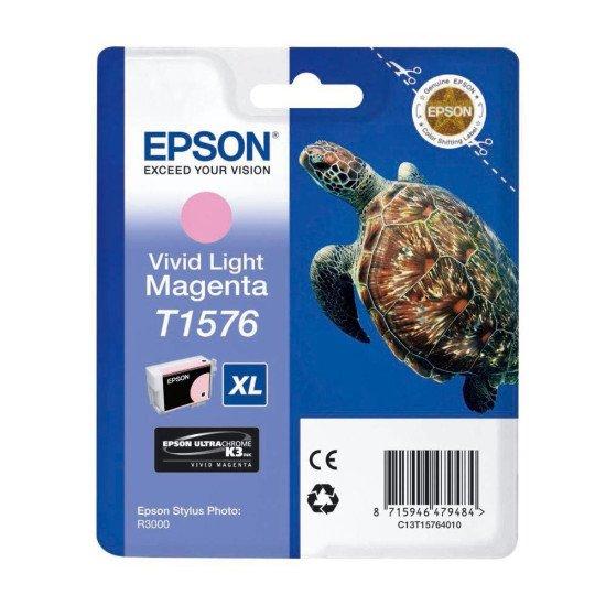 Epson T1576 Cartouche encre Magenta clair