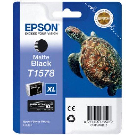 Epson T1578 Cartouche encre noir mat