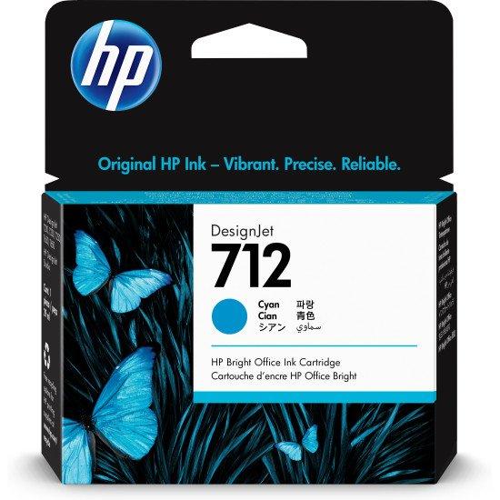 HP 712 Original Cyan 1 pièce(s)