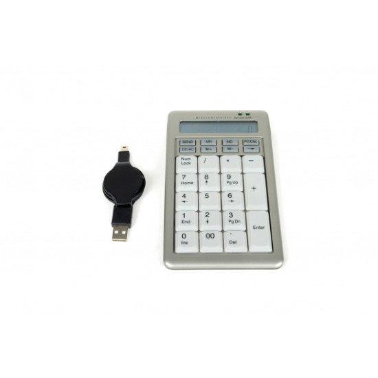 BakkerElkhuizen S-board 840 Pavé numérique USB Gris