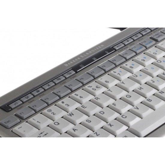 BakkerElkhuizen S-board 840 Clavier USB Gris QWERTY US