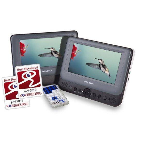 Salora DVP7048TWIN Lecteur DVD portable