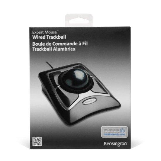 Kensington Trackball Expert Mouse Filaire