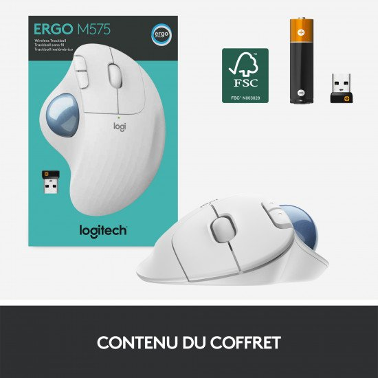 Logitech ERGO M575 Trackball
