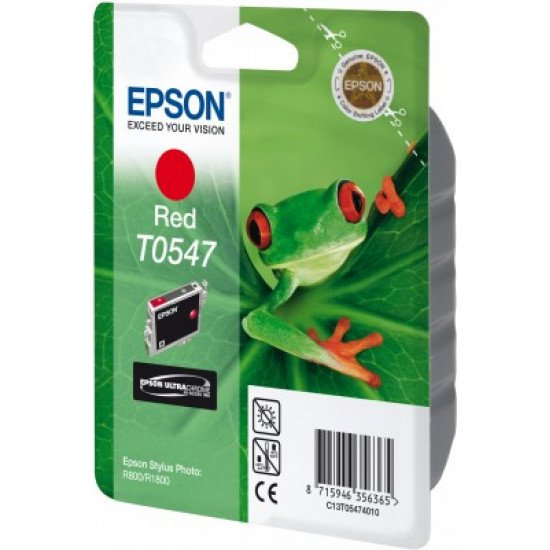 Epson T0547 Cartouche encre rouge