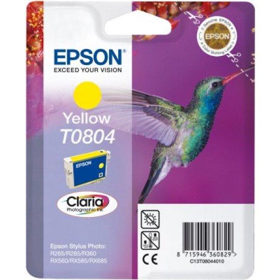 Epson T0804 Cartouche encre Jaune