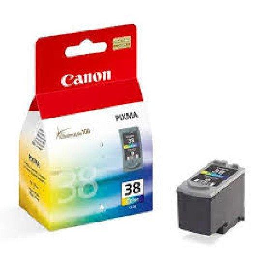 Canon CL-38  Cartouche encre / cyan, magenta, Jaune