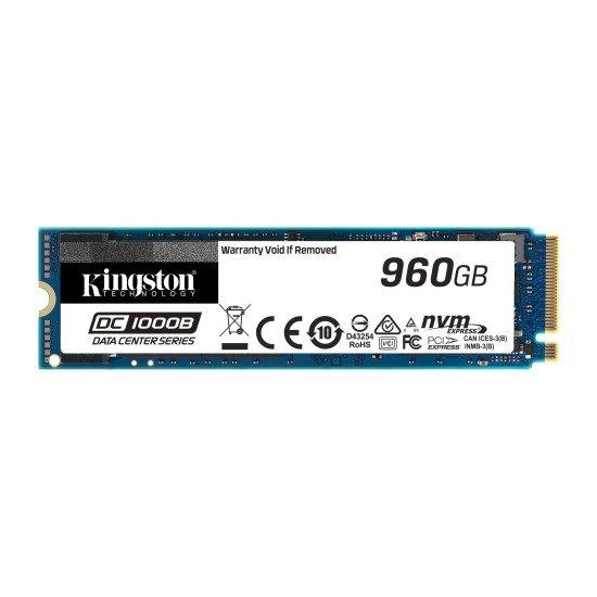 Kingston Technology DC1000B M.2 960 Go PCI Express 3.0 3D TLC NVMe