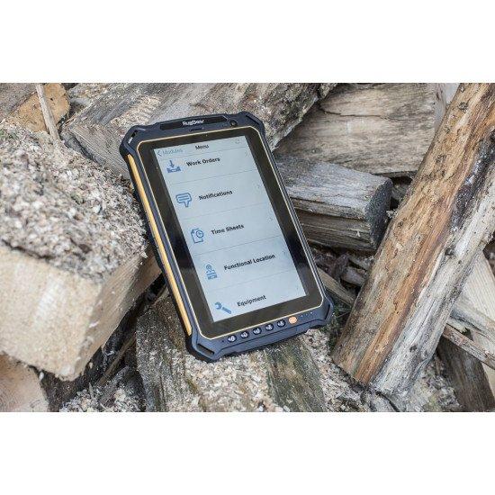 """RugGear RG930i 4G LTE-TDD & LTE-FDD 32 Go 20,3 cm (8"""") 3 Go Wi-Fi 4 (802.11n) Android 11 Gris, Orange"""
