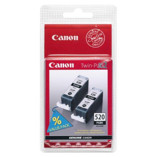 Canon PGI-520PGBK Twin Pack Cartouche encre / Noir