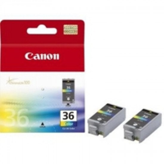 Canon CLI-36 Cartouche encre / Noir, Cyan, Magenta, Jaune
