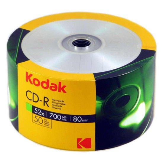 Kodak CD-R 700Mo 52x 50p.