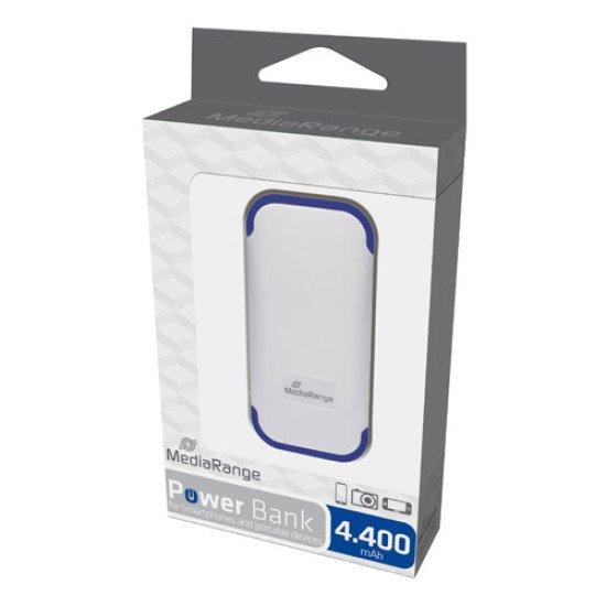 Mediarange chargeur de secours pour smartphone 4400mAh