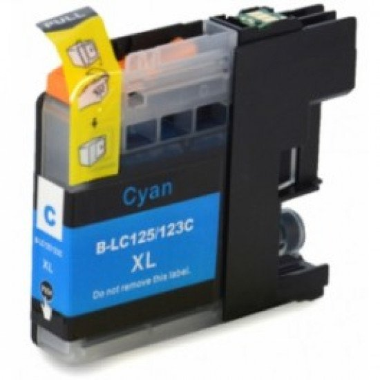 Cartouche compatible Brother LC-123C Cyan