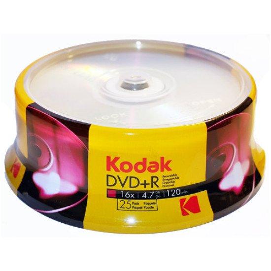 Kodak DVD+R 4,7Go 16x 25p.
