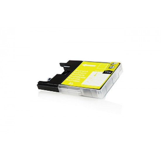 Cartouche compatible Brother LC1280 Y jaune